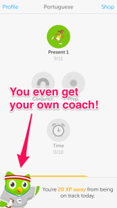You even get your own coach to help keep you on track!